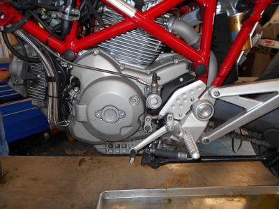Ducati Shift Return Spring Kit, easier shifting, Factory Pro