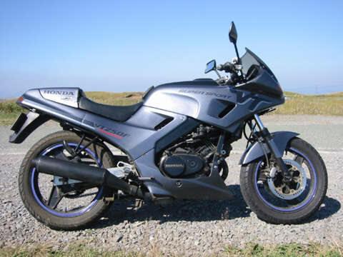 Otro recuerdo de mi adolescencia: La Honda VT250F