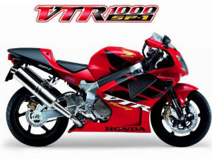 Honda VTR1000 Superhawk, 98 and up Factory Pro Series H77 The ...