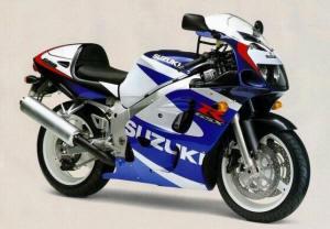Suzuki GSXR600 97 And 99