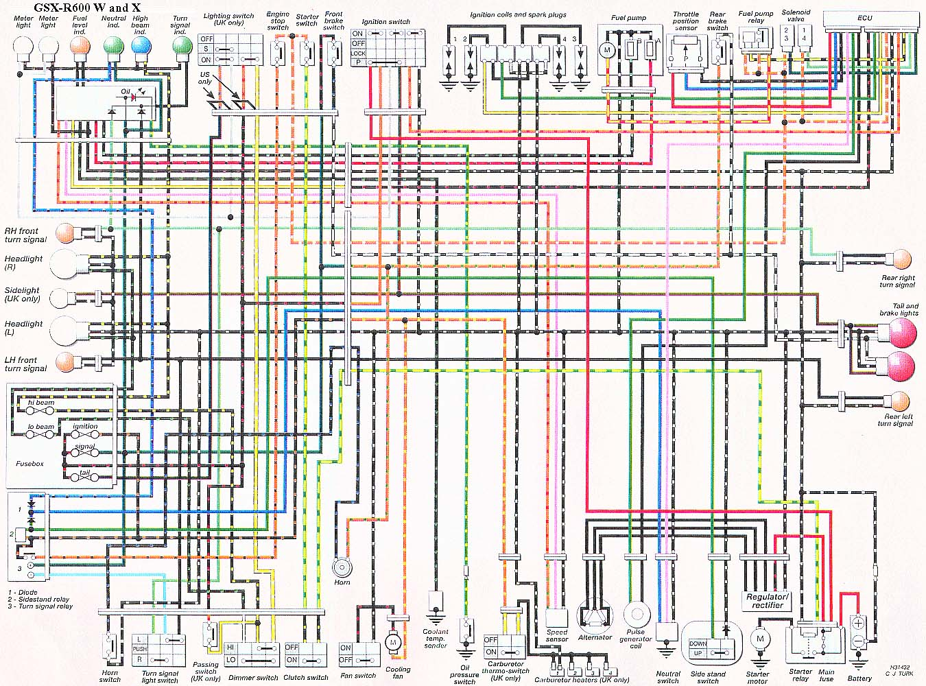 GSX R600_W_and_ X_ tps wires 2000 Gsxr 600 Wiring Diagram at webbmarketing.co